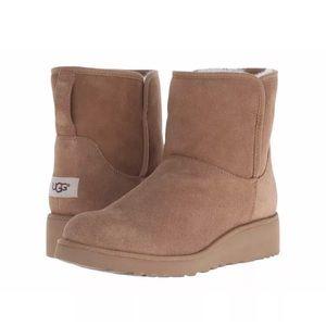 UGG Australia Kristin Sheepskin Wedge Boots